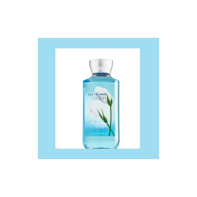 Bath and Body Works Sea Island Cotton Shower Gel 295ml
