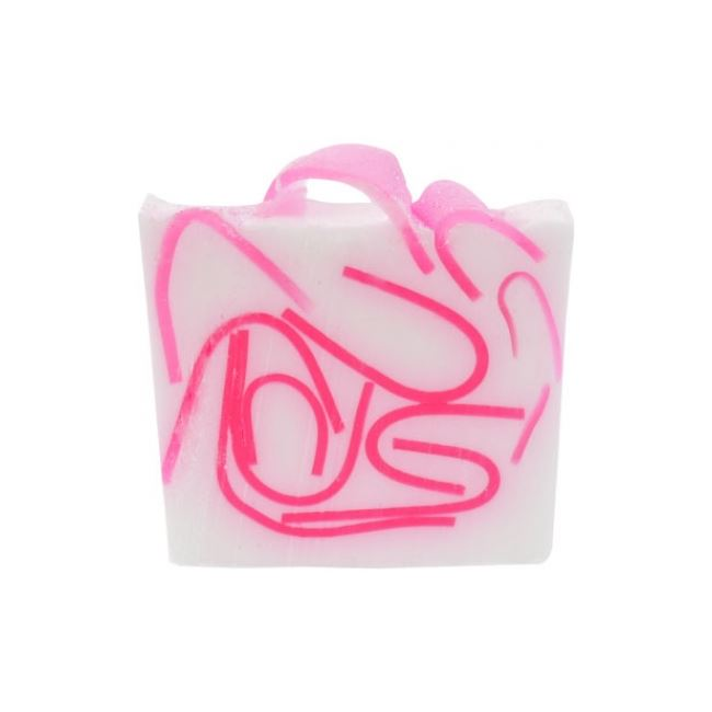 Bomb Cosmetics Tickled Pink Soap Slice 100gm
