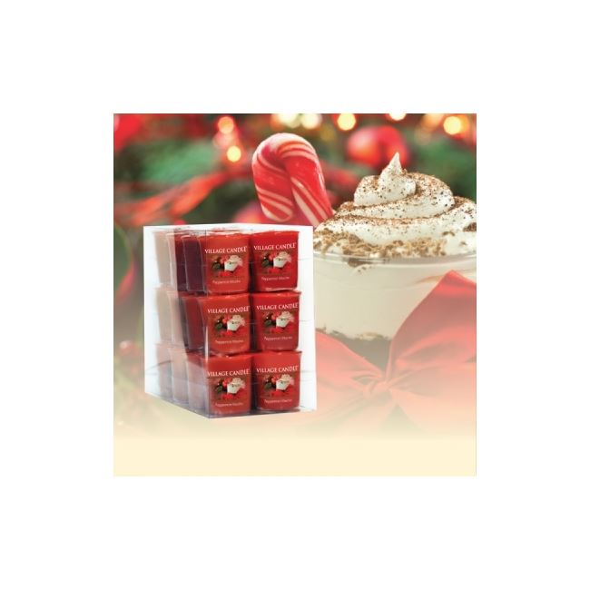 Village Candle Decor Votive Peppermint Mocha 61gm