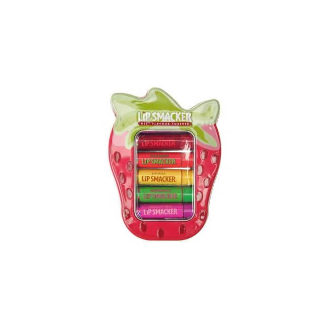Lip Smackers Lip Balm Strawberry Lover's Tin Collection