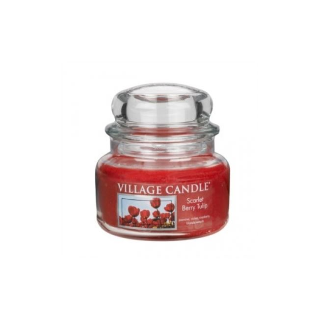 Village Candle Jar Scarlet Berry Tulip 701gm