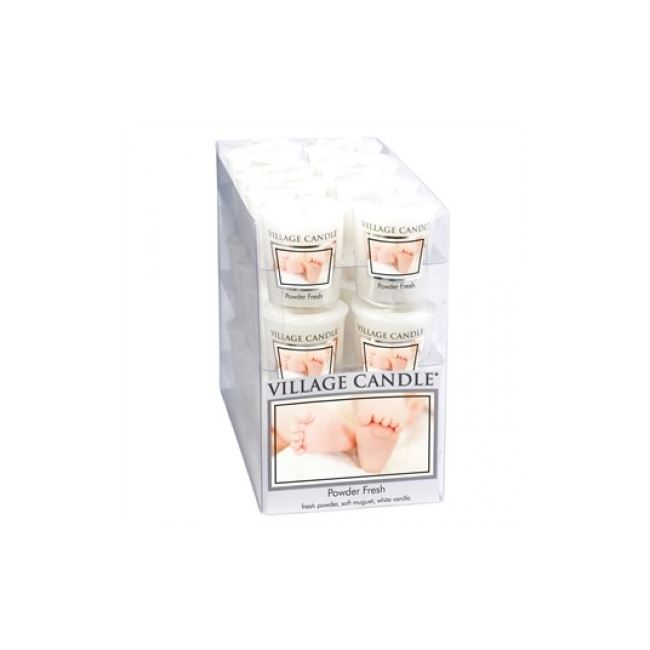 Village Candle Votive Powder Fresh 61gm