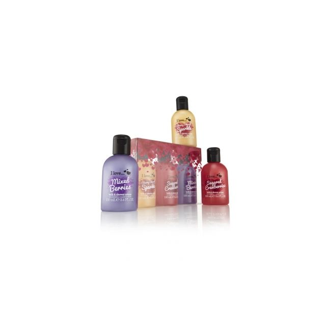 I Love... Tantalising Fruit Punch Trio Bubble Mini Collection Gift Set