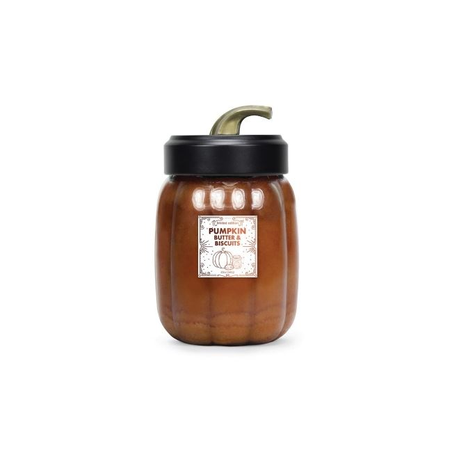 Goose Creek Pumpkin Jar Candles Pumpkin Butter & Biscuits 20oz