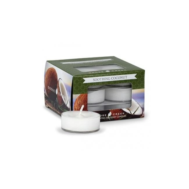 Goose Creek  Scented Tea Lights Soothing Coconut