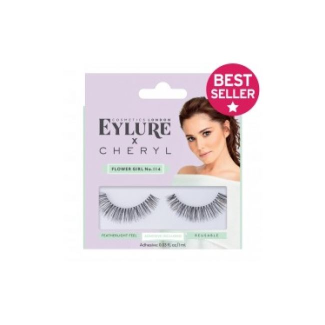 Cheryl's Lashes By Eylure Lengh Lashes 114