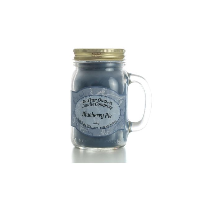 Our Own Candle Company Large Mason Blueberry Pie 13oz
