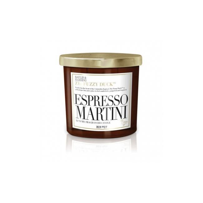 Baylis & Harding Fuzzy Duck Expresso Martini  2 Wick Candle