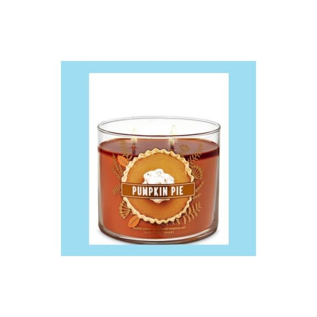 Bath And Body Works 3 Wick Candle 14.5oz Pumpkin Pie