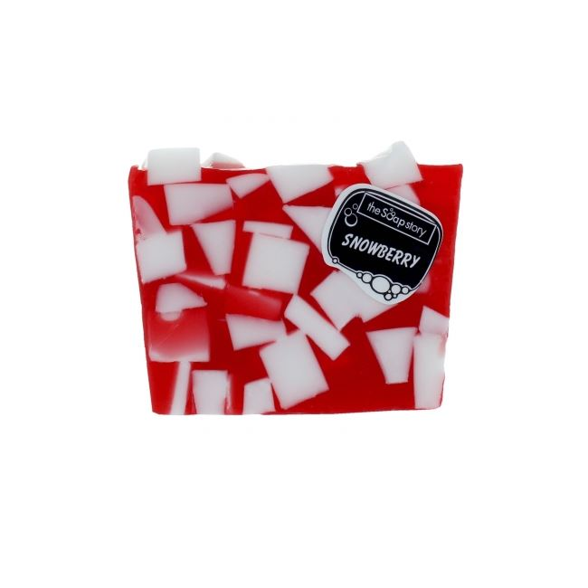The Soap Story Snowberry Soap Slice 120g