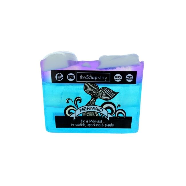 The Soap Story Mermaid Soap Slice 120g