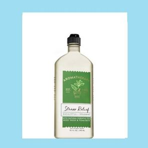 Bath and Body Works Aromartherapy Stress Eucalyptus & Spearmint Body Wash & Foam Bath 295ml
