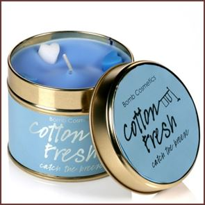 Bomb Cosmetics Candle Cotton Fresh