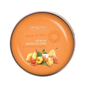 Grace Cole Fruit Works Peach and Pear Lip Balm 12g
