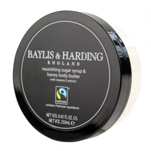 Baylis & Harding Fairtrade Nourishing Sugar Syrup And Honey Body Butter 250ml