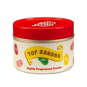 Jelly Belly Candle Tin Top Banana
