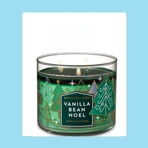 Bath & Body Works 3 Wick Candle 14.5oz Vanilla Bean Noel