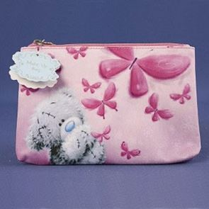 Me To You Tatty  Bear Make Up Bag Butterflies