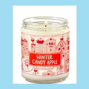 Bath and Body Works Candle Winter Candy Apple 198gm
