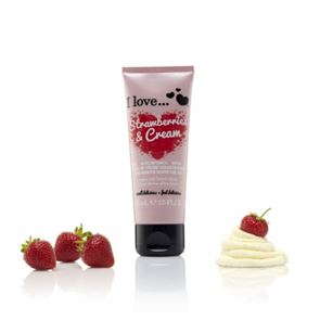 I Love...Strawberry & Milkshake Hand Cream 75ml