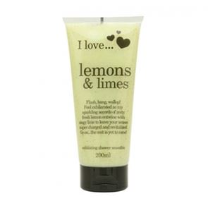 I Love...Lemon & Limes Exfoliating Shower Smoothie 200ml
