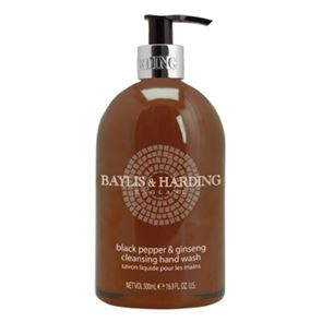 Baylis & Harding Black Pepper & Ginseng Hand Wash 500ml