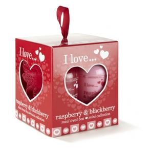 I Love...Raspberry & Blackberry Mini Treat Kits