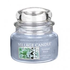 Village Candle Jar Small Smoked Birch 701gm