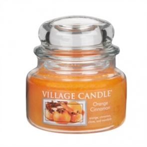Village Candle Jar Small Orange & Cinnamon 701gm