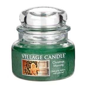 Village Candle Jar Small Christmas Morning 701gm