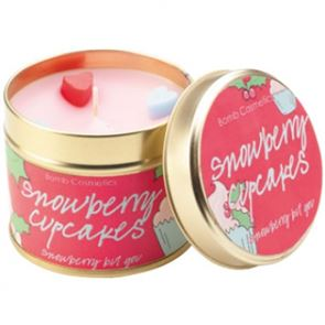 Bomb Cosmetics Candle Snowberry Cupcakes Fairy