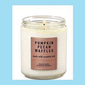Bath and Body Works Candle Pumpkin Pecan Waffles 6oz