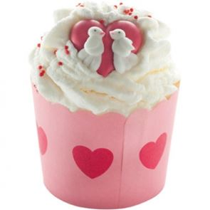 Bomb Cosmetics Jar Of Hearts Cocoa Swirl 110g