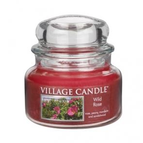 Village Candle Jar Small Wild Rose 701gm