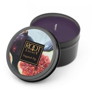 Root Candle Travel Tin Sugared Fig