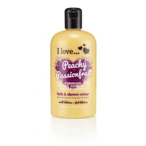 I Love...Peachy Passionfruit Bubble Bath and Shower Gel 500ml