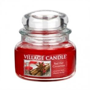 Village Candle Jar Small Red Hot Cinnamon  701gm