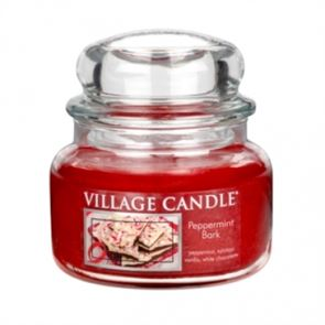 Village Candle Jar Small Peppermint Bark  701gm
