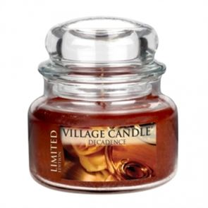 Village Candle Jar Small Decadence Ltd Ed  701gm