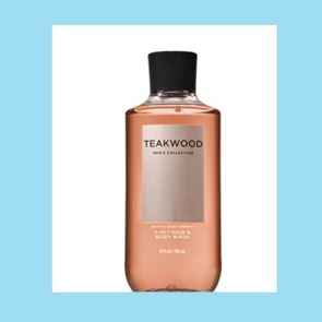 Bath And Body Works For Men Teakwood 2 In 1 Hair Body Wash 295ml