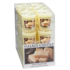 Village Candle Decor Votive Lemon Pound Cake 61gm