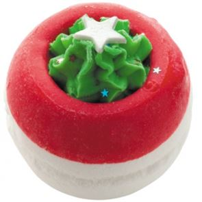 Bomb Cosmetics Gingerbread Trees Bath Bomb 160gm