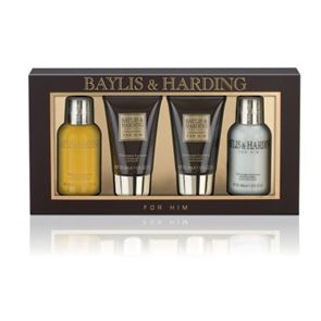 Baylis & Harding Black Pepper & Ginseng 4 Piece Gift Set