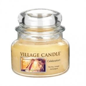 Village Candle Jar Small Celebration 701gm