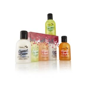 I Love... Tantalising Tropical Trio Bubble Mini Collection Gift Set
