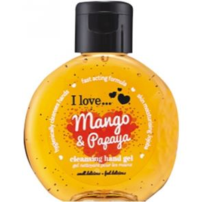 I Love ... Mango & Papaya Hand Cleanser 65ml