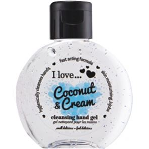 I Love ... Coconut & Cream Hand Cleanser 65ml