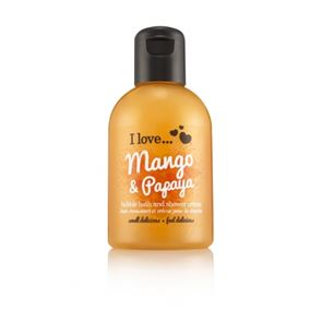 I Love...Mango & Papaya Bubble Bath and Shower Gel 100ml