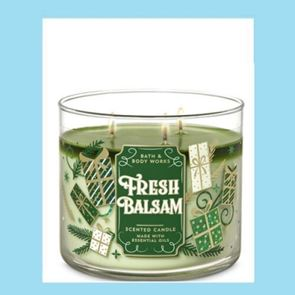 Bath And Body Works 3 Wick Candle 14.5oz Fresh Balsam