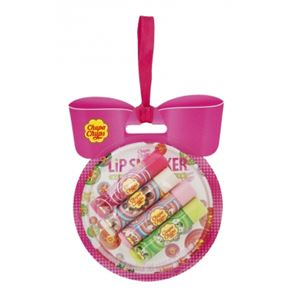 Lip Smackers Lip Balm Winter Hugs Chupa Chups Bauble Gift Pack.